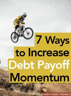 Are you tired of paying off debt? What should you do when your motivation to pay it off slows? Here are 7 ways to increase debt pay off momentum. Debt Payoff Tips, #Debt
