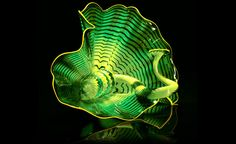 Celtic Emerald Persian Pair Studio Edition from Chihuly Workshop