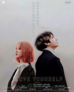 "437 Me gusta, 34 comentarios - angel (@secretimez) en Instagram: ""Love Yourself Series ;  HIGHLIGHT REEL. PART VII. Starred by : Jeon Jungkook and Jung Eunbi."""