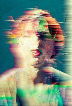 Color distortion | Gaaf hoe het een soort van future-vintage beeld creëert.
