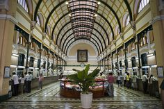 Eiffel post office (Ho Chi Minh-City - Vietnam)