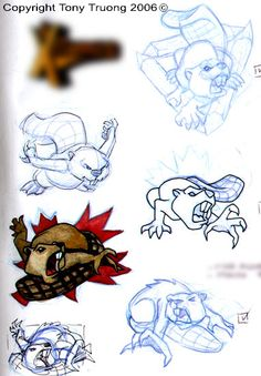 beaver tattoos - Google Search