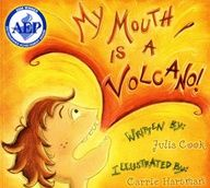 """My Mouth is a Volcano"" on TeachersNotebook.com.  Louis always interrupts. His mouth is a volcano. This story takes an empathetic approach to the habit of interrupting and teaches children a witty technique to help them manage their own volcano mouths."