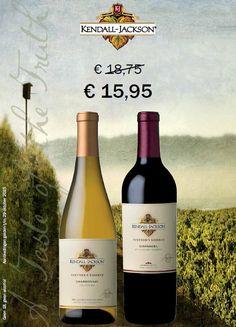 The American Dream. Kendall Jackson Vintner's Reserve Chardonnay & Kendall Jackson Vintner's Reserve Zinfandel. http://www.flesjewijn.com/jackson+family+wines