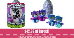 INCREDIBLE SAVINGS! $10 off ANY Toy Purchase of $50! Hatchimals ONLY $42.99 at Target! Target Deals, Amazon Deals, The Incredibles, Toys, Activity Toys, Clearance Toys, Gaming, Games, Toy