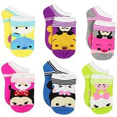 Tsum Tsum Girls Womens 6 pack Socks (6-8 (Shoe: 10-4), Ts... https://www.amazon.com/dp/B071S854FC/ref=cm_sw_r_pi_dp_x_A-xlzbZFD7616