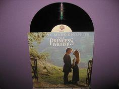 Rare Vinyl Record The Princess Bride Original by JustCoolRecords