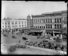 Springfield, Illinois 1934. Courtesy of Springfield Rewind and Sangamon Valley Archives.
