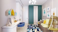 Stylish Bedrooms Designed for Kids