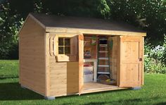 was generated to produce information regarding that would entice customers to read the useful information to make a decision about which shed to buy. Garbage Can Shed, Outdoor Bike Storage, Cedar Shed, Shed Builders, Shed Kits, Storage Shed Plans, Gable Roof, Roof Styles, Rustic Contemporary