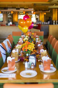 """Fall in Love"" Autumn themed bridal shower 