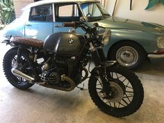 The magic twins... BMW R100RS and Citroen DS