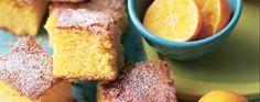 Gluten-free clementine cake