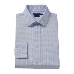 Men's Croft & Barrow® Slim-Fit No-Iron Dress Shirt, Size: 17.5-32/33, White