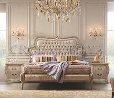 Yatak odanız, bulutların üzerinde geziyormuş gibi yumuşak ve saf çizgilere sahip olacak.