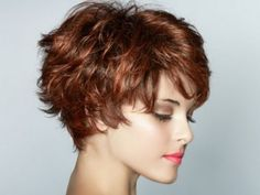 Neat Very Layered Short Modern Hairstyles 2014 for Naturally Wavy Hair