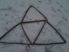 Tikkuongelmia - kuinka monta kolmiota muodostuu...