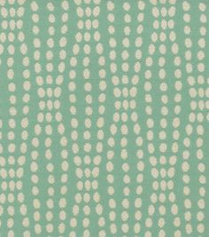 Upholstery Fabric-Waverly Strands/Turquoise