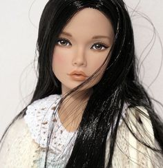 by Peewee Parker, via Flickr. I wish I could find cute dolls like this for my girls.: