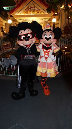 Zorro Mickey and Candy Corn Minnie at Disneyland Halloween Party Disneyland Halloween Party, Disney Halloween Costumes, Disney World Florida, Disney Parks, Party Wristbands, Disney Mouse, Disneyland Park, Disney Magic, Zoro