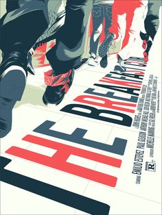 The Breakfast Club Poster by Matt Taylor for Mondo. The 30th Anniversary of The Breakfast Club