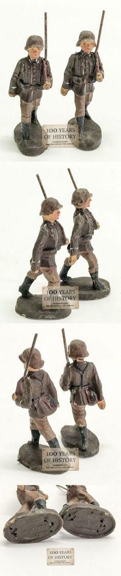 Orig. Elastolin Lineol o.ä. Soldaten marschieren | eBay