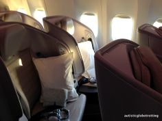 Air New Zealand economy premium Aircraft Interiors, Air New Zealand, Cabin Interiors, Cabin Crew, Airplane, Aviation, Car Seats, Around The Worlds, Home