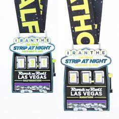 Medalla de Maratón Las Vegas 2015.