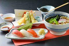 天ぷら握りランチ 1050円(+税)
