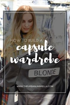 THE 30 ITEM CAPSULE WARDROBE