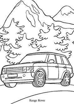 A colorier, une belle Range Rover à la campagne Coloring For Kids, Adult Coloring, Coloring Books, Dotted Drawings, Doodle Background, Apple Logo, Range Rover, Printable Coloring Pages, Kids Learning