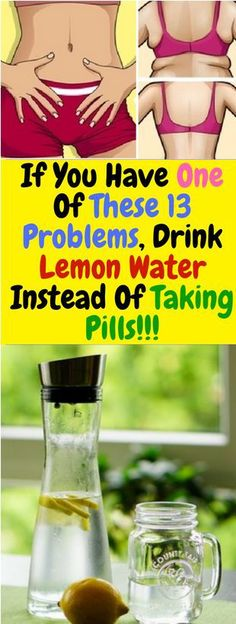 If You Have One Of These 13 Problems, Drink Lemon Water Instead Of Taking Pills! - The Girl - Beauty, Health, Entertainment Reduce Weight, Lose Weight, Weight Loss, Wellness Tips, Health And Wellness, Health Care, Women's Health, Health Goals, Sore Muscles After Workout