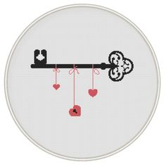 Key cross stitch pattern ounted cross stitch by MagicCrossStitch