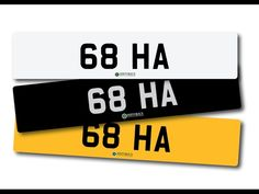 Number plate 68 HA with retention certificate. / MAD on Collections - Browse and find over 10,000 categories of collectables from around the world - antiques, stamps, coins, memorabilia, art, bottles, jewellery, furniture, medals, toys and more at madoncollections.com. Free to view - Free to Register - Visit today. #Cars #NumberPlates #MADonCollections #MADonC