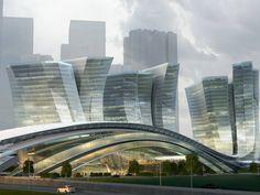 Express Rail Link West Kowloon Terminus Hong Kong | Aedas | Architecture | Transport | Hong Kong