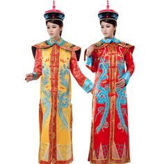 >> Click to Buy << Ancient Chinese Costume Chinese Costume Qing Dynasty Palace Imperial Concubine Empress Dowager Clothing Embroidered Women Set #Affiliate