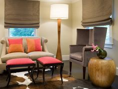 Contemporary Living-rooms from Ana Donohue on HGTV