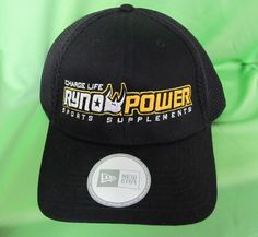 Place a powerful logo on a hat to really get noticed!