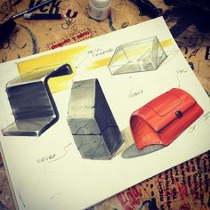 "Instagram @elgeorgge - ""#jorgevillacortasketch #materials…"