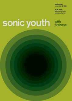 sonic youth at all souls, 1986