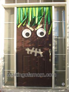 Monster Door... enter if you dare!