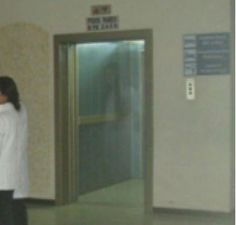 """Ghost Woman Photographed in a Bolivian Hospital? Reddit user """"EskimoJake"""" claims their friend, who's a doctor, took this picture in 2010 at a hospital in Bolivia. The photo shows a ghostly woman, with..."""