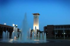 University of Memphis Tigers - the Clock Tower in center of campus.