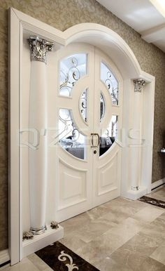 Fashionable modern and modern solid timber entrance doors offer your home elegance that can be reall Doors Interior, Home Interior Design, Stairs Design, Wood Doors Interior, Home Room Design, Modern House Design, Home, House Doors, Door Design Interior
