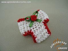 Lembrancinha de Nascimento em Croche - Aprendendo Crochê - YouTube