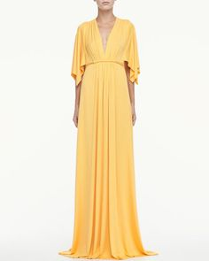Jersey Long Caftan Dress by Rachel Pally at Neiman Marcus.