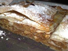 La Rosa Bulgara: Banitza-torta di pasta fillo con mele,carote,noci e canella