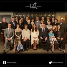 "A Duchess At Downton: Kate Middleton Visits Cast And Set Of ""Downton Abbey"""