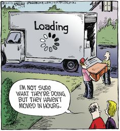 Loading...    - 'Speed Bump' by Dave Coverly;  11/19/12