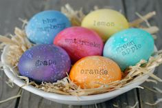 Scented Easter Eggs